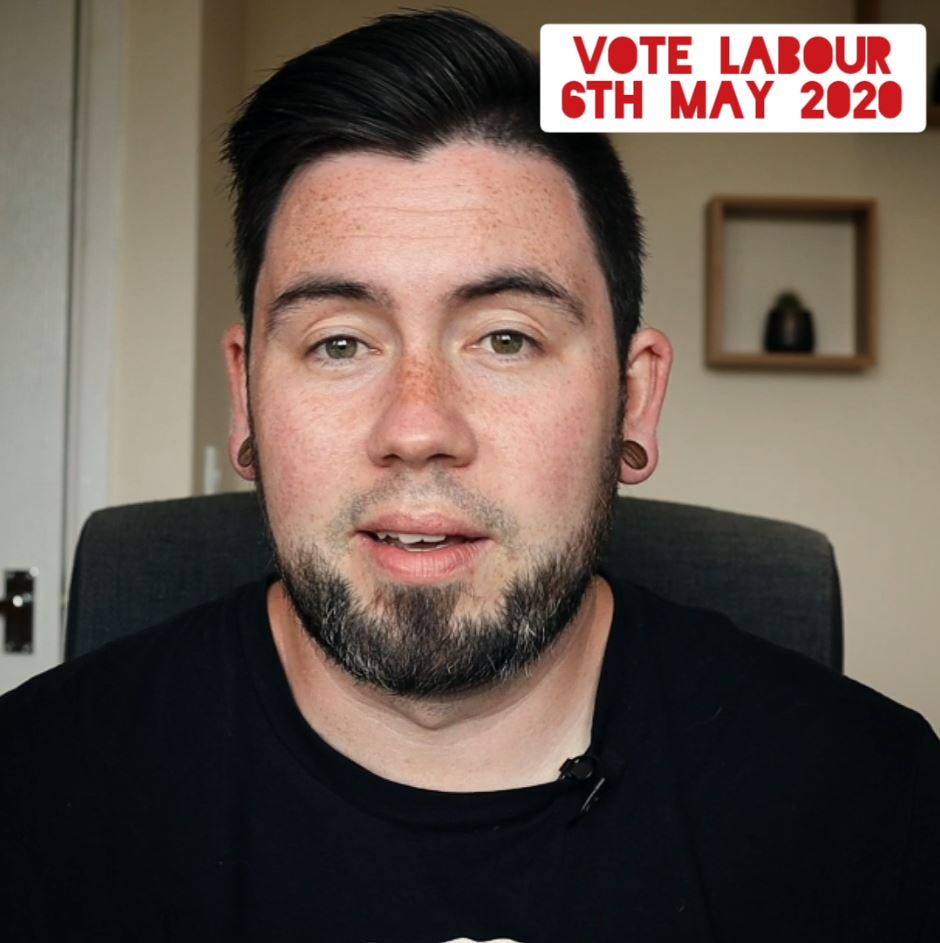 Adam talking about polling day on Thursday 6th May
