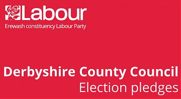 Derbyshire County Council pledges header image
